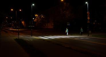 ZDM doświetla przejścia dla pieszych na Pradze Południe