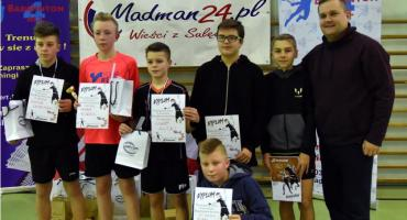 Badminton: Weekend sukcesów UKS Gwda