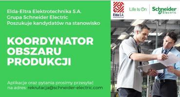 Schneider Electric zatrudni na stanowisko Mistrz/Koordynator Sektora Produkcji