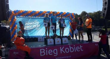 Natalia Kowalik i Małgorzata Szabałowska na podium w ogólnopolskim Biegu Kobiet!