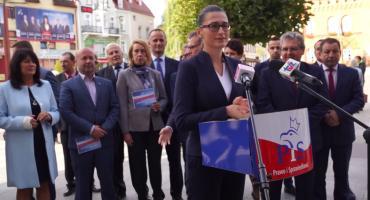 Małgorzata Golińska:  Mamy wielkie zadanie do wykonania, by ten układ został odsunięty od władzy