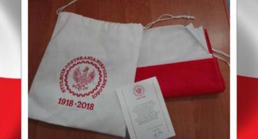 Flagi od prezydenta Andrzeja Dudy w Gminie Szczecinek