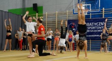 Akrobatki z Darzboru trenowały z uczestnikami Igrzysk Olimpijskich