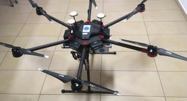 Dron już jest w rękach strażników miejskich