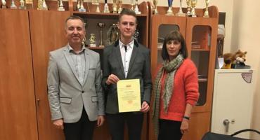 Kolejny sukces Mateusza Golczyka z I LO