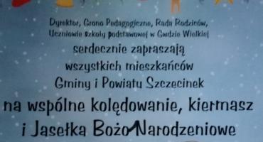 Gwda Wielka zaprasza na Jasełka Bożonarodzeniowe