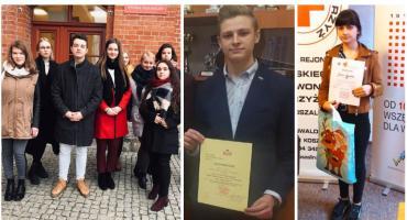 Kolejne sukcesy uczniów I LO w ogólnopolskich Olimpiadach Wiedzy