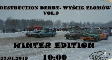 Zimowe rozbijanie samochodów już w niedzielę