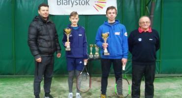 Gabriel wygrywa Ogólnopolski Turniej Tenisowy Kadetów w Białymstoku
