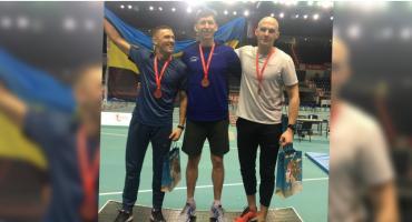 Były zawodnik STS Pomerania Szczecinek z medalem Mistrzostw Polski