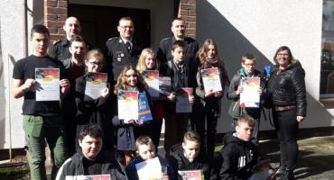 Młodzież także zapobiega pożarom