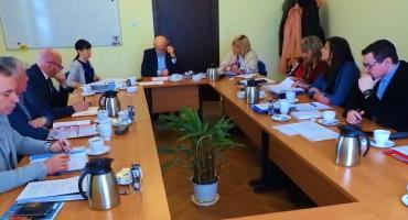 Starosta Krzysztof Lis spotkał się z dyrektorami szkół