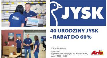 Jysk w Szczecinku serdecznie zaprasza! Rabaty do 60%!