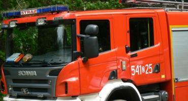 Pożary i powalone drzwa. Ponad 50 interwencji straży pożarnej w Szczecinku