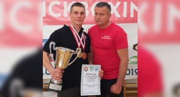 Dwa złote medale Bartłomieja Mienciuka!