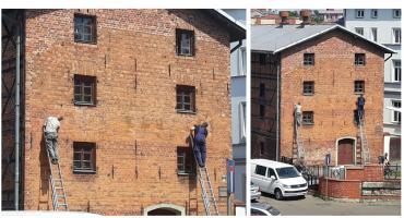 W centrum Szczecinka pojawi się budynek z niemieckim napisem
