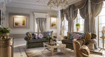 Luksusowo urządzone wnętrze - komfort i niezwykłe wyposażenie