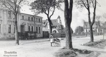 Colberger Vorstadt, czyli Kołobrzeskie Przedmieście. Tak, w Neustettin