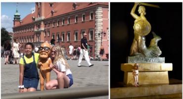 Obywatel Włapko odwiedził Warszawę. W stolicy robiono sobie z nim zdjęcia