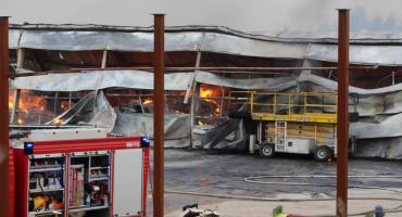 Zniszczony w pożarze zakład produkcyjny w Szczecinku będzie odbudowany?