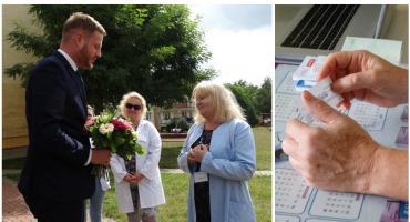 Milionowy pacjent skorzystał z e-recepty w Szczecinku. Nad Trzesiecko przyjechał podsekretarz stanu w Ministerstwie Zdrowia