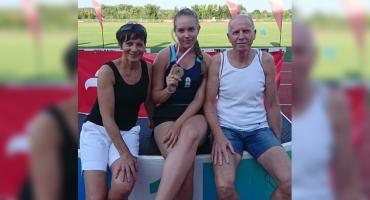 Sandra Woldt ze złotym medalem Mistrzostw Województwa!