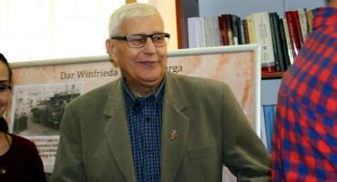 Kazimierz Margol z Krzyżem Oficerskim Orderu Odrodzenia Polski