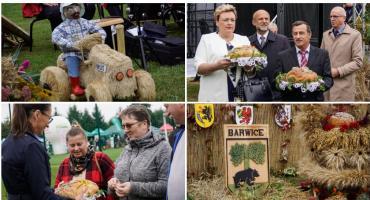 Powiatowa uroczystość podziękowania za plony. W tym roku dożynki odbyły się w Barwicach