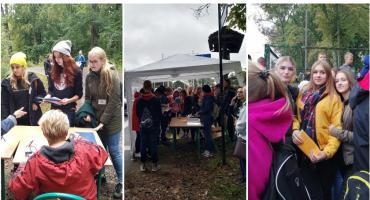Młodzi matematycy szaleli w Lesie Klasztornym