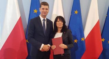 Joanna Pawłowicz z honorowym tytułem Profesora Oświaty