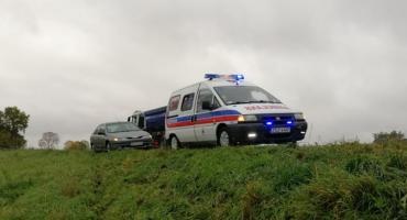 Ratownicy grupy Tadmed pomogli poszkodowanej w wypadku