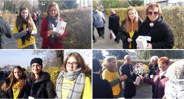 Na cmentarzu w Szczecinku kwestowali na rzecz hospicjum