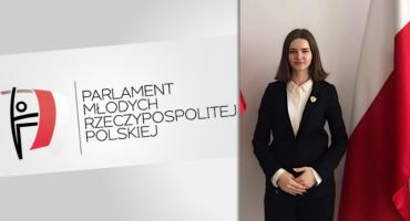 Paula Jakubik deputowana do tegorocznego Parlamentu Młodych RP