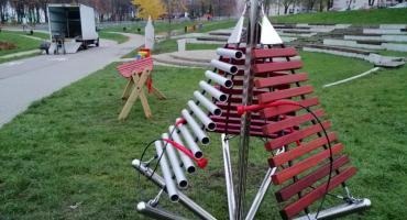Grajkowie na start! Instrumenty w Strefie Aktywnego Wypoczynku już są