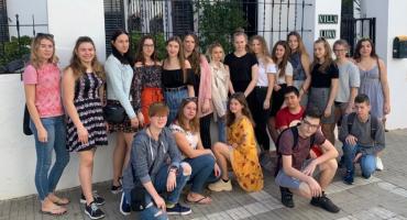Technicy z ZS6 odbywają staż w Hiszpanii
