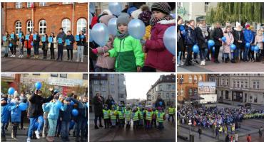 Plac Wolności na niebiesko! Międzynarodowy Dzień Praw Dziecka w Szczecinku