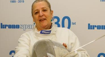 Mistrzyni Europy ze wsparciem Kronospanu! Aniela Sosnowska: Szermierka to radość i spełnianie marzeń
