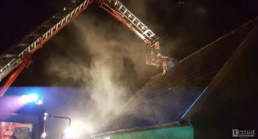 W ogniu stanął komin i samochód. Tydzień straży pożarnej w Szczecinku