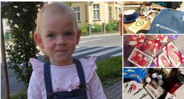Uczniowie z ZST pomogą małej Amelce. Jutro w szkole loteria charytatywna!