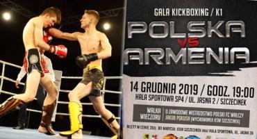 Gala Sportów Walki ponownie w Szczecinku! Polska zmierzy się z Armenią
