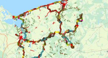 Rowerem ze Szczecinka do (na przykład) Cedyni