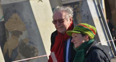 Na jarosławskim Rynku reżyser Krzysztof Zanussi nagrywa film