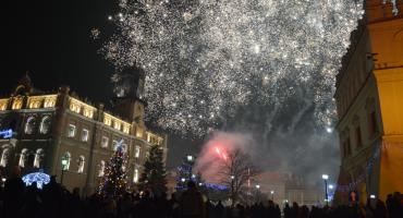 Tak witaliśmy Nowy Rok na Rynku w Jarosławiu (ZDJĘCIA, WIDEO)