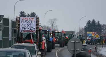 Protest rolników. Ciągniki przejechały przez Jarosław