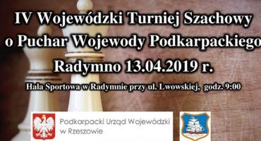 Turniej Szachowy o Puchar Wojewody Podkarpackiego 2019