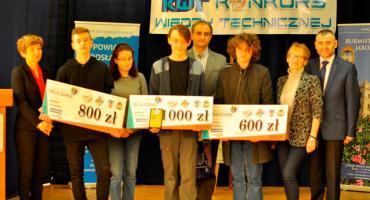 Finały Konkursu Wiedzy Technicznej w ZSTiO