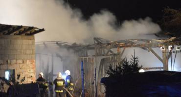 Podejrzany o podpalenie stodoły w Szówsku
