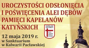 Aleja Dębów Pamięci Kapelanów Katyńskich w Kalwarii Pacławskiej