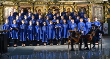 Koncert uczniów szkoły muzycznej w cerkwi Przemienienia Pańskiego