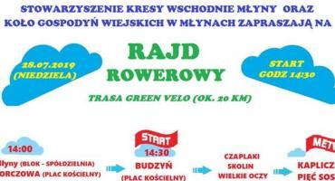 Rajd Rowerowy z Młynów do kapiliczki w Cetyni